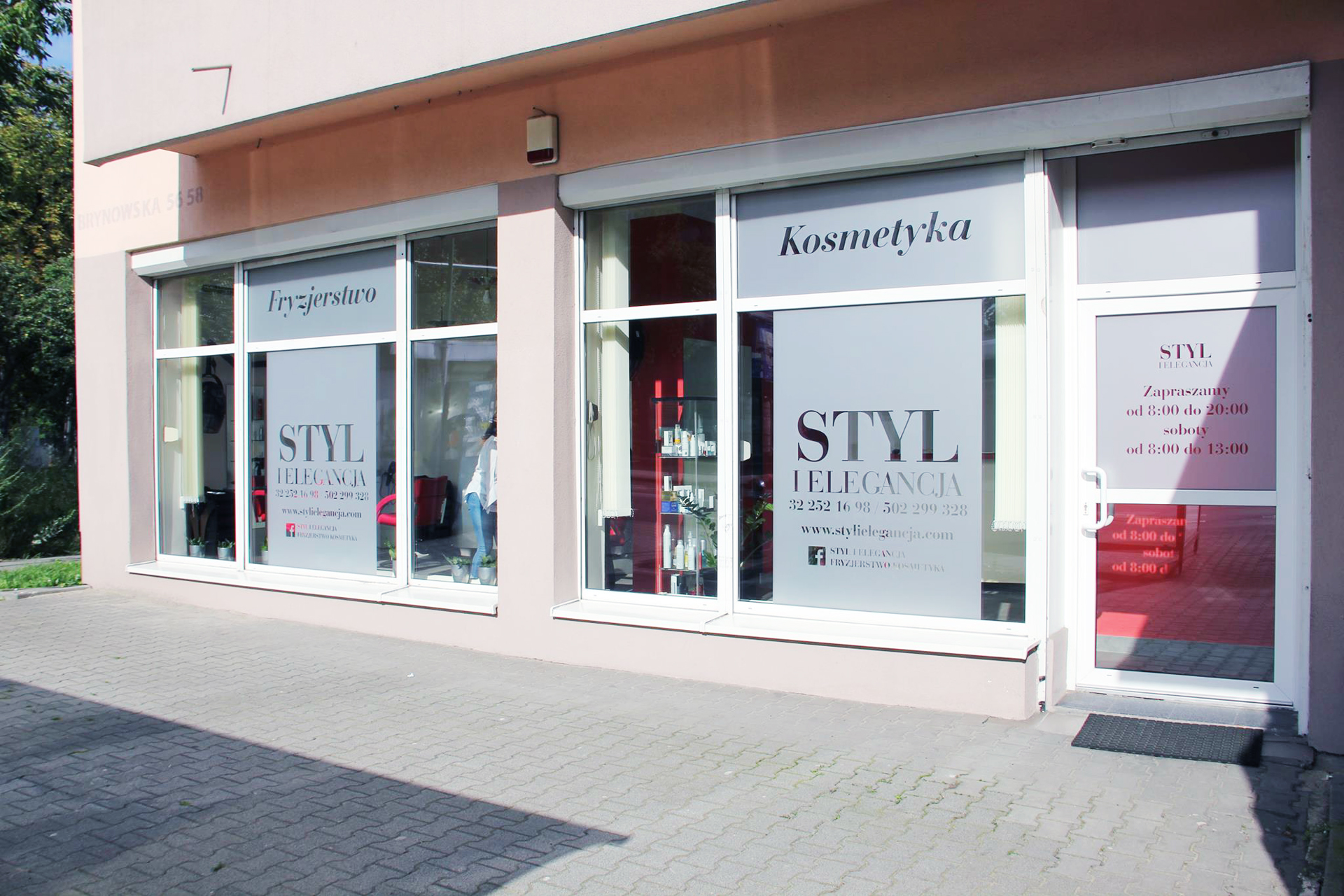 salon fryzjerski salon kosmetyczny katowice godziny